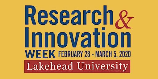 R&I Week 2020 - Lakehead University - Northern IGNITE
