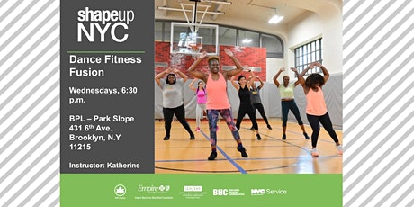 Shape Up NYC - Dance Fitness Fusion tickets