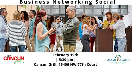 Business Networking Social (Cancun Grill) tickets