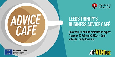 Leeds Trinity's Business Advice Café - Thursday, 13 February 2020 tickets