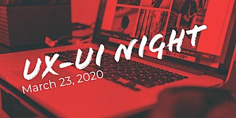 UX-UI Night at Google Campus (2 Talks) tickets