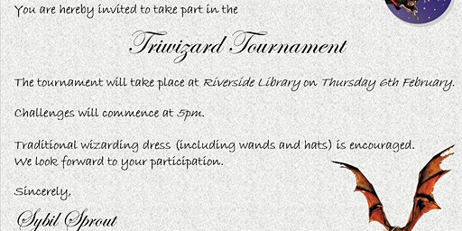Triwizard Tournament // Harry Potter Book Night