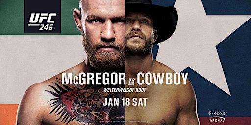 """UFC 246 - McGregor vs. """"Cowboy"""" Cerrone"""