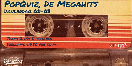 PopQuiz, De Megahits | Breda tickets