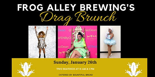 Frog Alley Brewing Drag Brunch