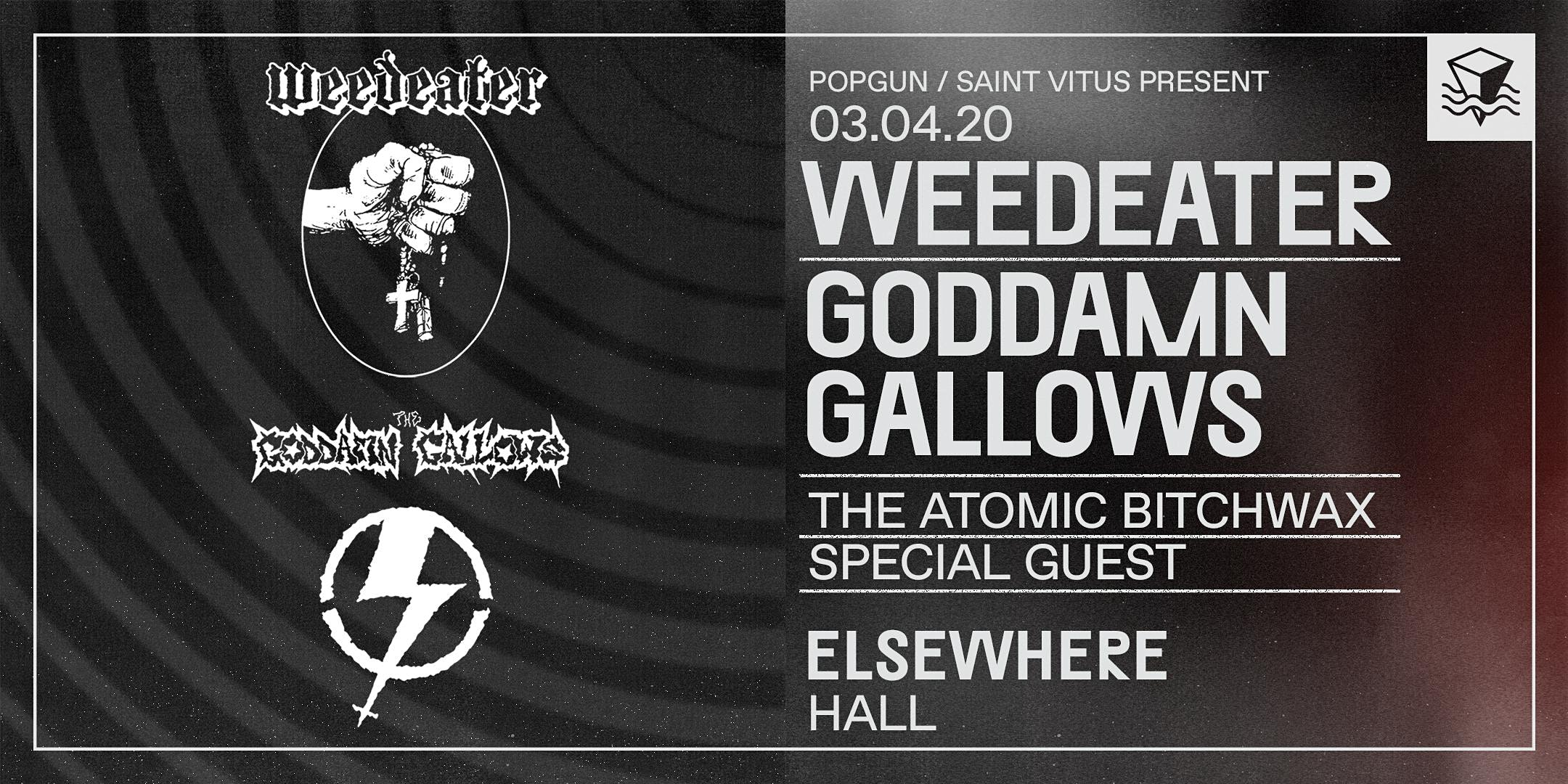 Weedeater + Goddamn Gallows
