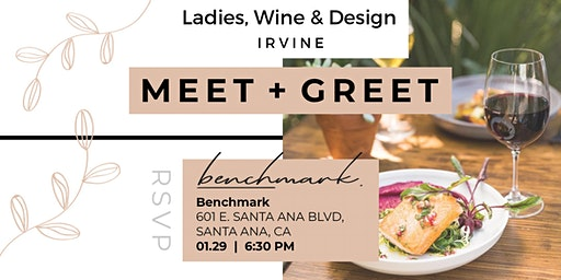 Meet and Greet 2020  - Ladies, Wine & Design