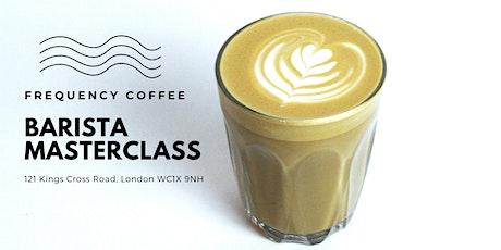 Frequency Coffee Barista Masterclass tickets