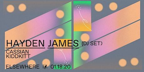 Hayden James (DJ Set), Cassian & KIDKITT @ Elsewhere (Hall) tickets