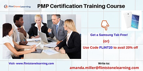 PMP Classroom Training in Montreal, QC billets