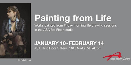 Akron Society of Artists presents Painting from Life, Jan. 10-Feb14