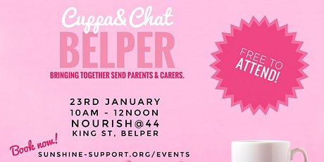 Cuppa + Chat - Belper - January tickets