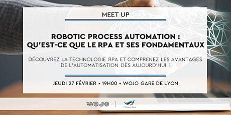 Robotic Process Automation : qu'est-ce que le RPA et ses fondamentaux ? tickets