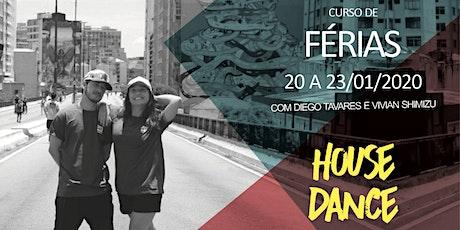 House Dance com Vivian Shimizu e Diego Tavares ingressos
