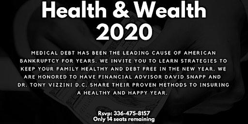 Health & Wealth 2020 workshop & luncheon