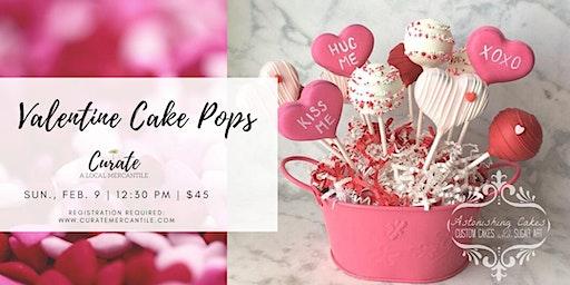 Valentine's Cake Pop Decorating