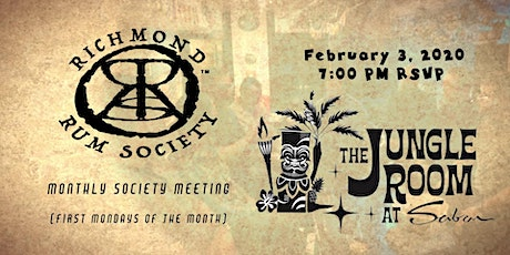 Monthly Richmond Rum Society™ Meeting tickets