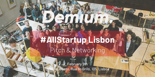Pitch & Network #AllStartup Lisbon