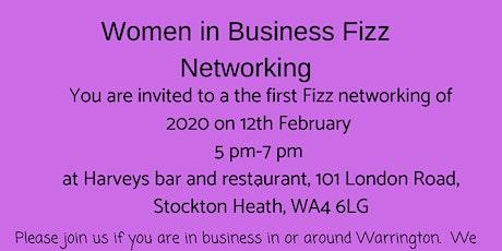 Warrington women in business Fizz networking event tickets