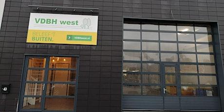 Opening VDBH WEST BV te Stolwijk tickets