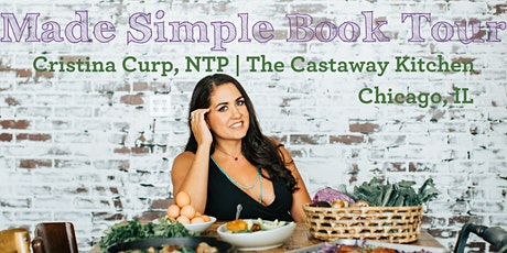 Made Simple Book Tour | Cristina Curp in conversation with Teri Turner tickets
