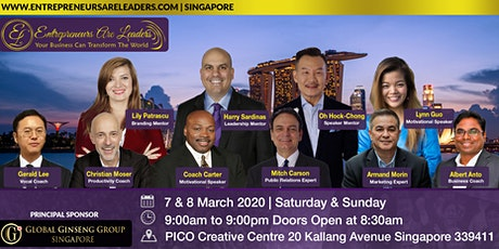 Speakers Are Leaders Preview @ Entrepreneurs Are Leaders  8 March 2020 tickets