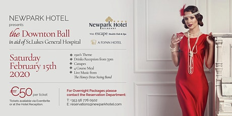 The Downton Ball in aid of St.Lukes General Hospital Kilkenny billets