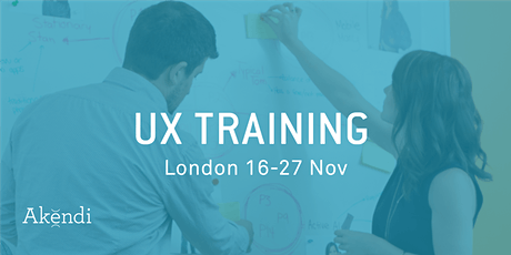 UX Training & Certification, London - Nov 2020 tickets