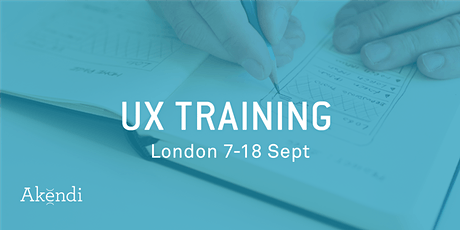UX Training & Certification, London - Sep 2020 tickets