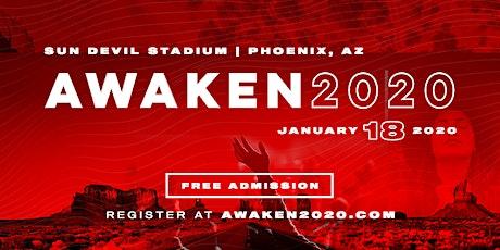 AWAKEN 2020 : The Jesus People Stadium Event of 20 tickets