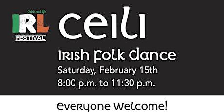 Ceili - Irish folk dance for everyone! tickets