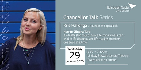 Chancellor Talk with Kris Hallenga: How to Glitter a Turd tickets