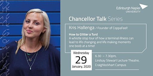 Chancellor Talk with Kris Hallenga: How to Glitter a Turd