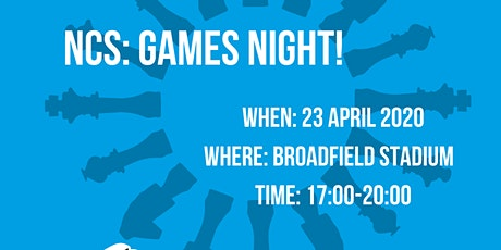 NCS Crawley: Games Night! tickets