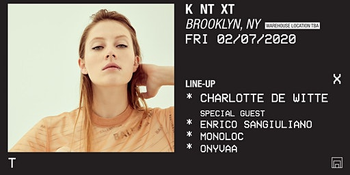 KNTXT | Charlotte de Witte