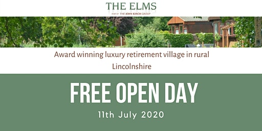 Open Day - The Elms Retirement Park
