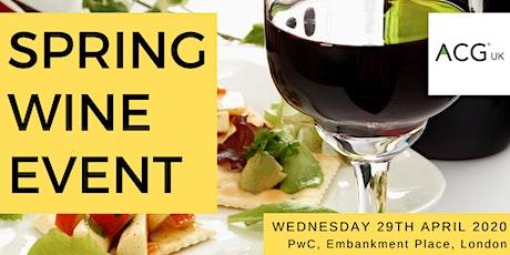 Spring Wine Event & Economic Update tickets