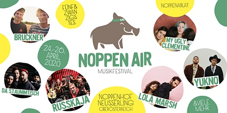 Noppen Air Musikfestival 2020 Tickets