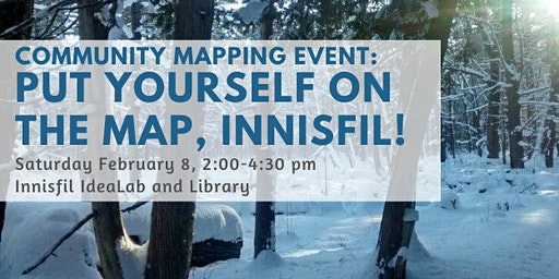 Put yourself on the map, Innisfil!