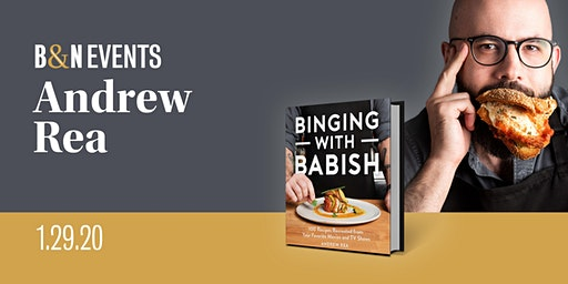 Meet Andrew Rea of Binging with Babish at Barnes & Noble Tysons Corner Mall