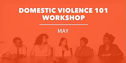 May Domestic Violence 101 Workshop