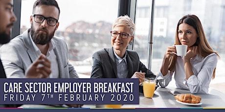 Care Sector Employer Breakfast tickets