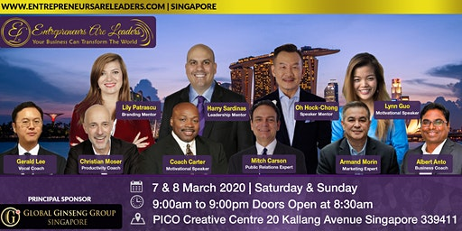 Practice Public Speaking @ Entrepreneurs Are Leaders 8 March 2020 Morning