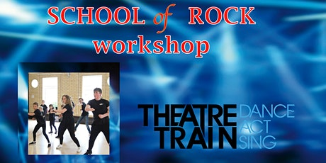 Theatretrain FREE Open Day Workshop - School of Rock  - Cambridge North tickets