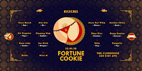 RICECAKE: FORTUNE COOKIE tickets