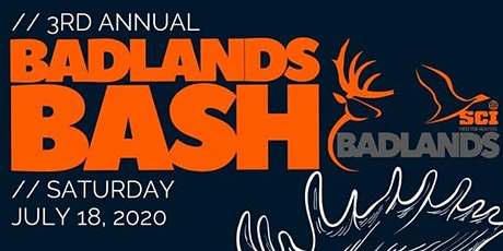 Third Annual Badlands Bash tickets