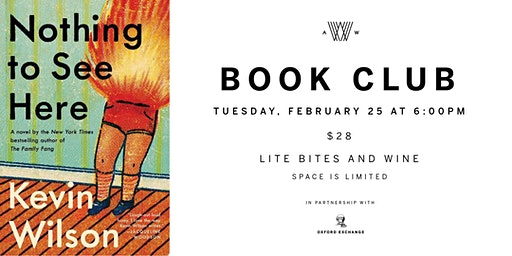 Armature Works Book Club - February 25