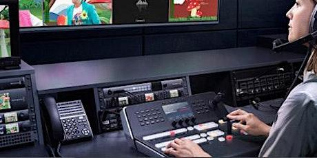 Operador de Switcher Atem com ênfase em Streaming tickets