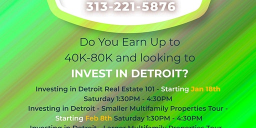 DTC Presents: Investing in Detroit - Smaller Multifamily Properties Tour
