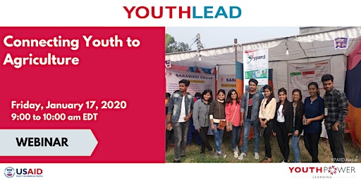 YouthLead Webinar: Connecting Youth to Agriculture